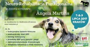 """Seminarium """"Neuro-Rehabilitacja Funkcjonalna"""" dla Zoofizjoterapeutów"""